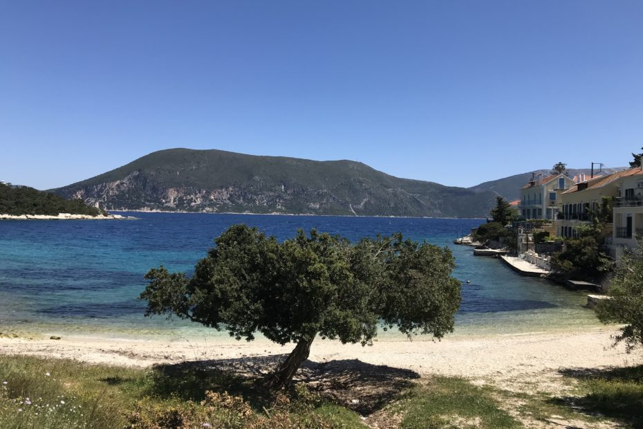 Fiscardo beach